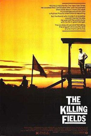 The Killing Fields (film) - Theatrical release poster