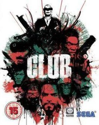 The Club (video game) - British cover art