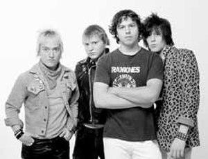 The Exploding Hearts - The Exploding Hearts.  Left to right: Adam Cox, Jeremy Gage, Matt Fitzgerald, Terry Six