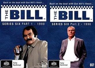 The Bill (series 6) - Image: Thebillseries 6DVD