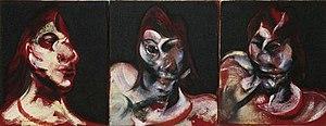 Three Studies for a Portrait of Henrietta Moraes - Three Studies for the Portrait of Henrietta Moraes, 1963
