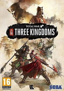 <i>Total War: Three Kingdoms</i> Turn-based strategy real-time tactics video game, based on the Three Kingdoms era of Chinese history
