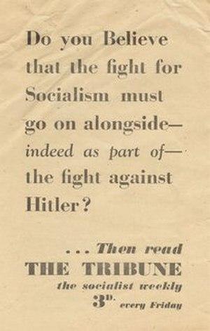 Tribune (magazine) - Early 1941 Tribune flier
