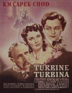<i>Turbina</i> 1941 Czech film directed by Otakar Vávra
