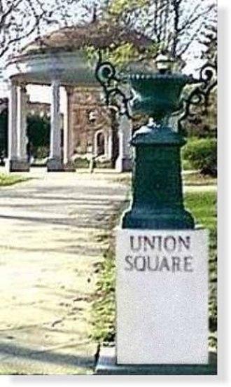 Union Square, Baltimore - A view of Union Square park