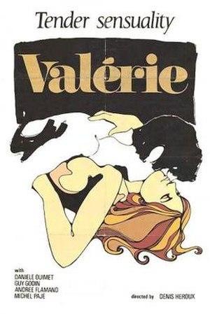 Valérie - Image: Valérie Film Poster