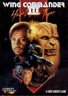 <i>Wing Commander III: Heart of the Tiger</i> computer game; 3rd installment of Wing Commander series
