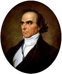 Portrait of Daniel Webster chosen by Senator Kennedy to adorn the Senate Reception Room.