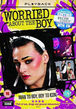 Worried About the Boy - British DVD cover