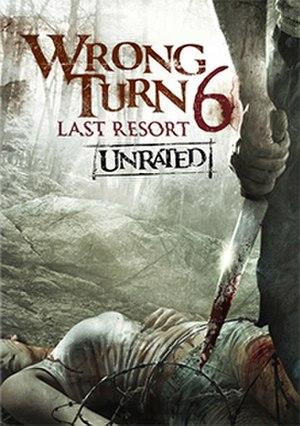 Wrong Turn 6: Last Resort - DVD cover