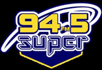 XHNU-FM - Image: XHNU Super 94.5FM logo