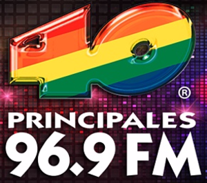 XHUL-FM - Previous logo prior to the change from Los 40 Principales to Los 40