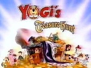 Yogi's Treasure Hunt - Image: Yogi's Treasure Hunt logo
