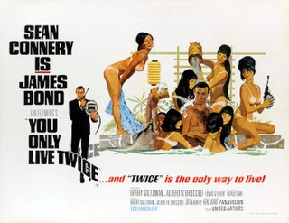 <i>You Only Live Twice</i> (film) 1967 James Bond film by Lewis Gilbert