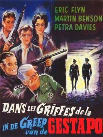 The Silent Invasion - Belgian poster