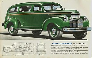 Chevrolet Suburban - 1941 Chevrolet Carryall Suburban