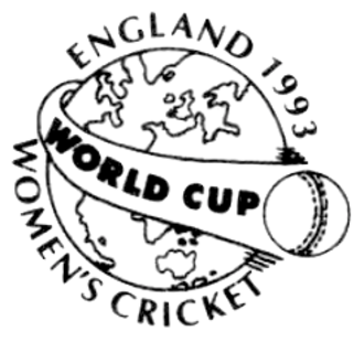 1993 Women's Cricket World Cup - Image: 1993 Women's Cricket World Cup logo