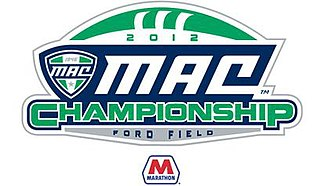 MAC Football Championship Game - Image: 2012 MAC Championship