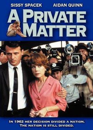A Private Matter - Film poster
