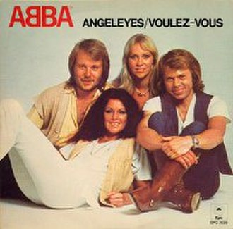 Angeleyes - Image: Abba Angel Eyes Cover