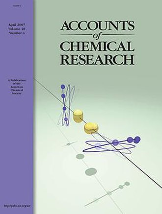 Accounts of Chemical Research - Image: Acr cover