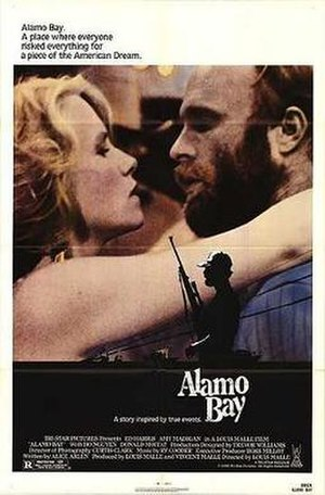 Alamo Bay - Theatrical release poster
