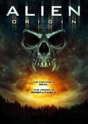 Alien Origin - DVD cover