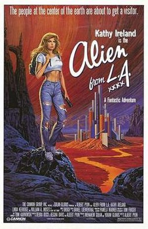 Alien from L.A. - One-sheet for Alien from L.A.