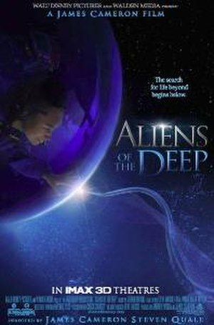 Aliens of the Deep - Promotional poster