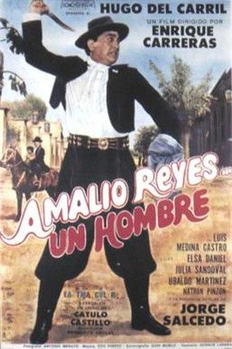 Amalio Reyes, un hombre - Argentine movie poster