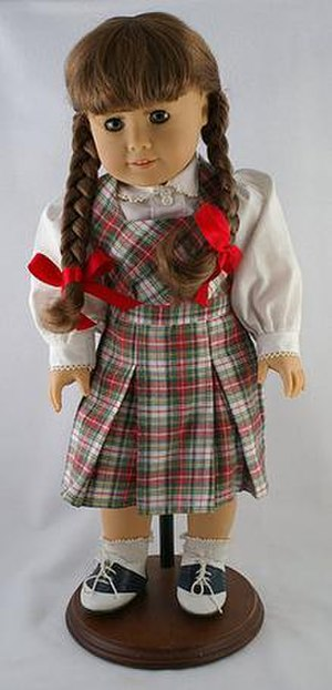 Molly McIntire from the American Girl doll series.