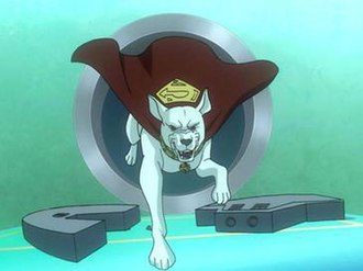 Krypto - Krypto as he appears in the 2010 film Superman/Batman: Apocalypse.