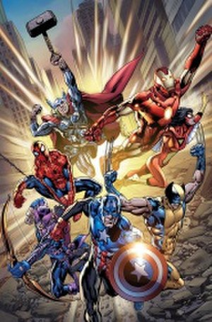 The Avengers (comic book) - Image: Avengers 2010