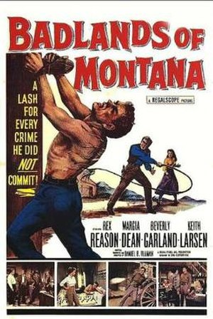 Badlands of Montana - Theatrical release poster
