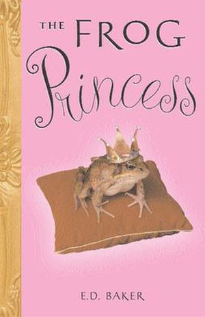The Frog Princess (novel) - Image: Baker Frog Princess