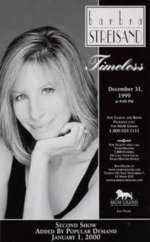 Timeless (Barbra Streisand) - Image: Barbra S Timeless Poster