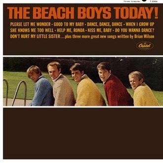 The Beach Boys Today! - Image: Beach Boys Today Cover