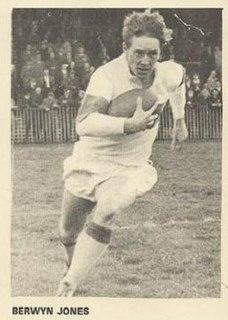 Berwyn Jones GB international rugby league footballer & athlete