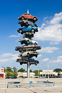 sculpture in Illinois by Dustin Shuler
