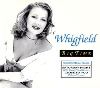 Big Time (Whigfield song) Whigfield song