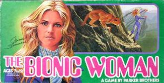 The Bionic Woman - The Bionic Woman board game