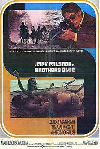 Brothers Blue - Image: Blu gang vissero poster