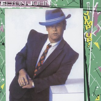 Jump Up! (Elton John album) - Image: Blue Eyes Elton John alt. cover
