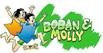 Boban and Molly - Image: Boban and Molly Logo