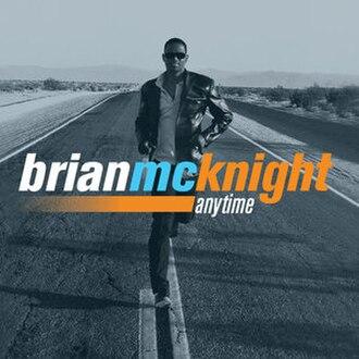 Anytime (album) - Image: Brianmcknight anytimealbum