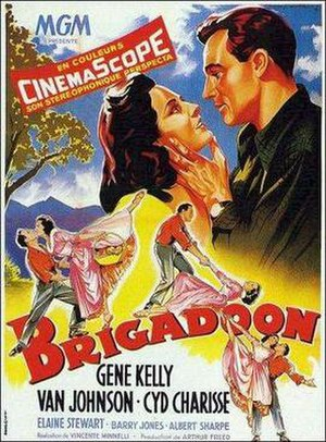 Brigadoon (film) - French film poster