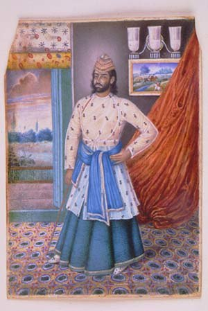 Bardhaman Raj - Mehtab Chand of Burdwan, c.1860-65