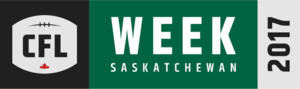 2017 CFL season - CFL Week 2017 logo.