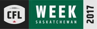 2017 CFL season - CFL Week 2017 logo.