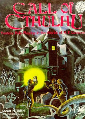 Call of Cthulhu (role-playing game) - Image: Call of Cthulhu RPG 1st ed 1981